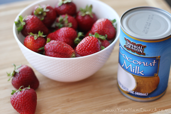{Vegan} Coconut Whipped Cream recipe via NomNomCrunch.com